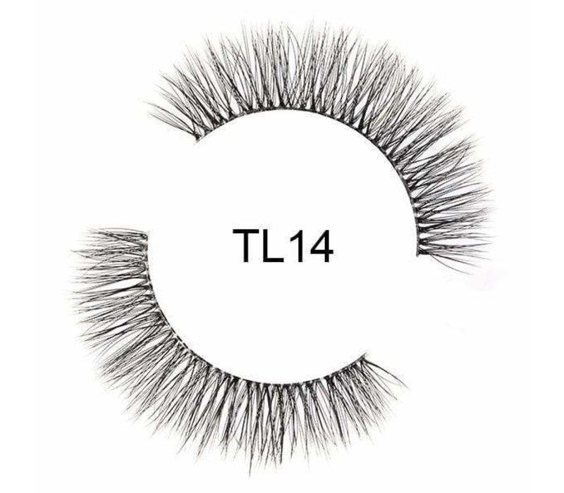 Tatti Lashes 3D Brazilian Silk Hair TL14