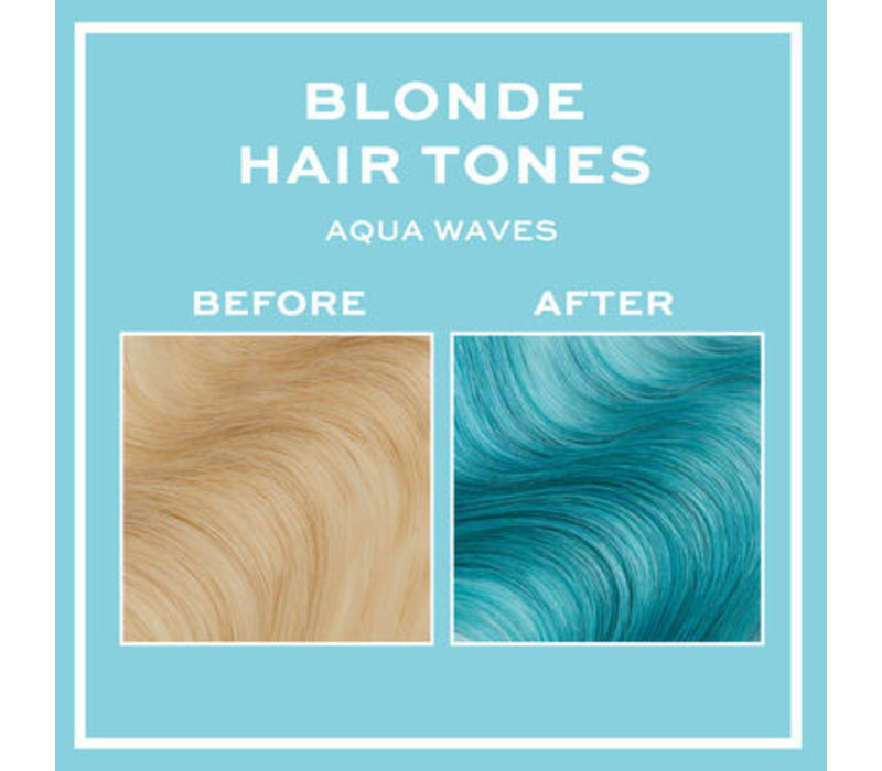Revolution Hair Hair Tones For Blondes Aqua Waves
