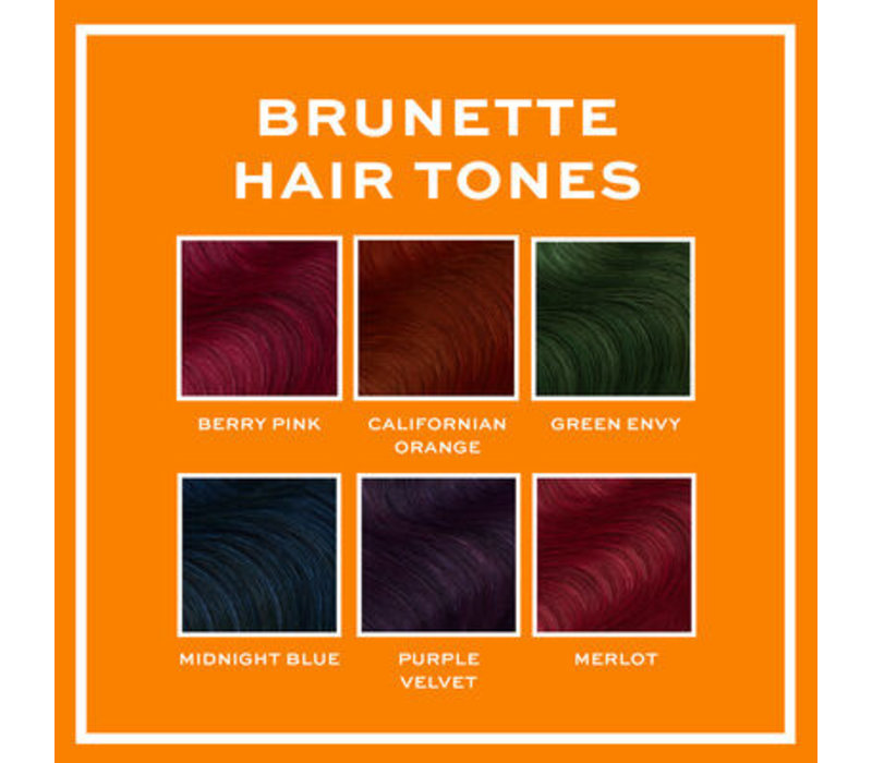 Revolution Hair Hair Tones For Brunettes Merlot