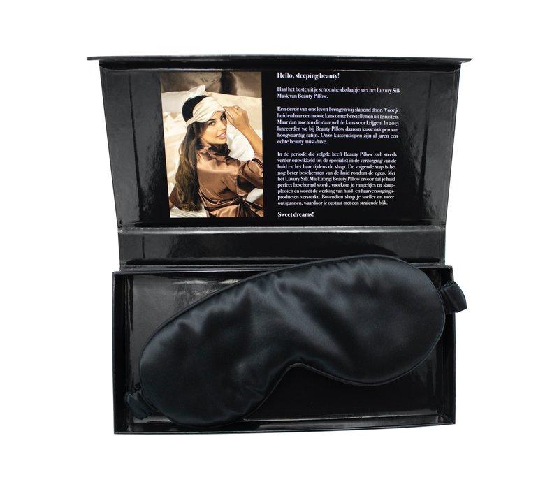 Beauty Pillow Luxury Silk Mask Black