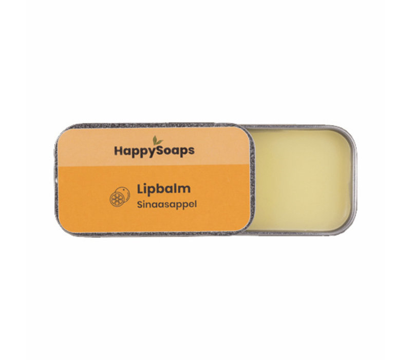 HappySoaps Lip Balm Orange