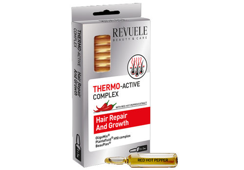 Revuele Thermo Active Complex Hair Repair & Growth Ampoules