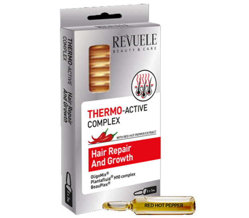Revuele Thermo Active Complex Hair Repair & Growth Ampullen