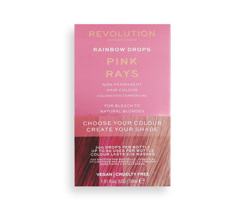 Revolution Hair Rainbow Drops Pink Rays