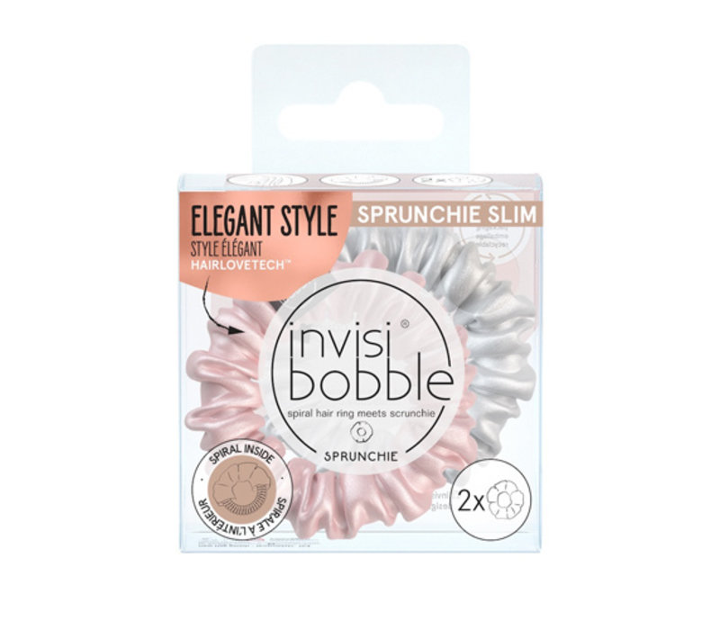 Invisibobble Sprunchie Slim Bella Chrome