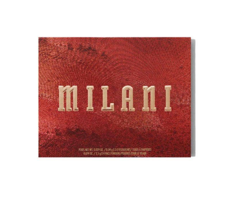 Milani All Inclusive Eye, Cheek & Face Palette Medium to Deep