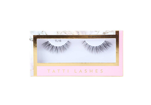 Tatti Lashes 3D Brazilian Silk Hair TL16