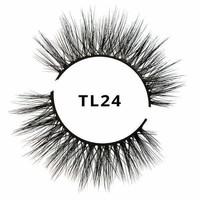Tatti Lashes 3D Brazilian Silk Hair TL24