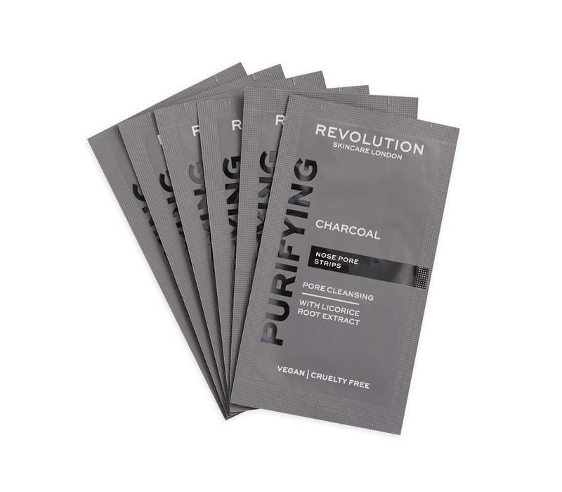 Revolution Skincare Pore Cleansing Charcoal Nose Strips