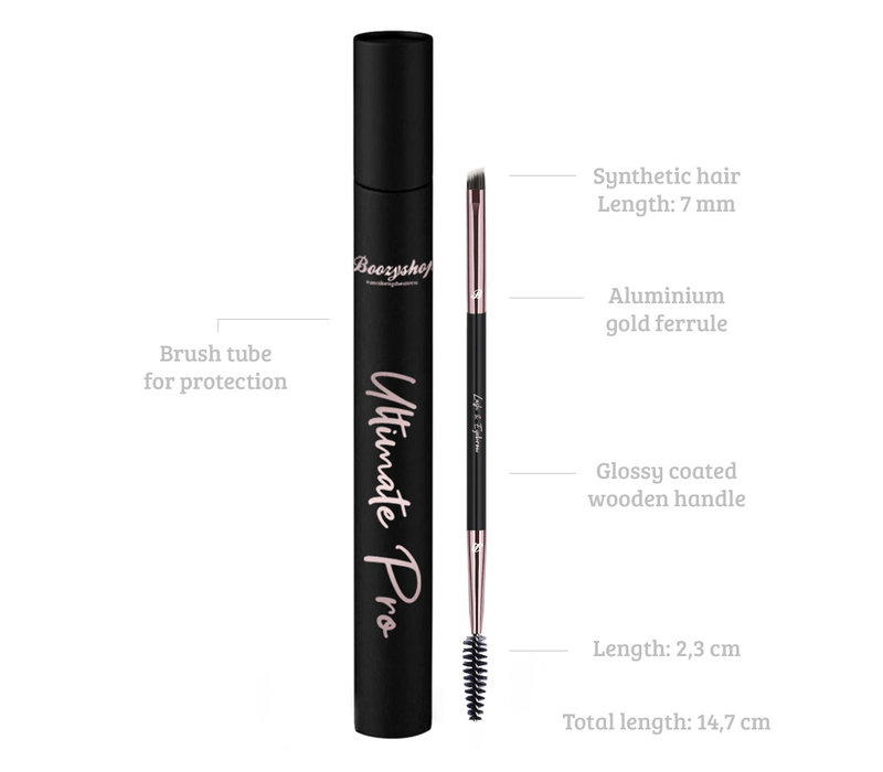 Boozyshop Ultimate Pro UP37 Lash & Eyebrow Brush