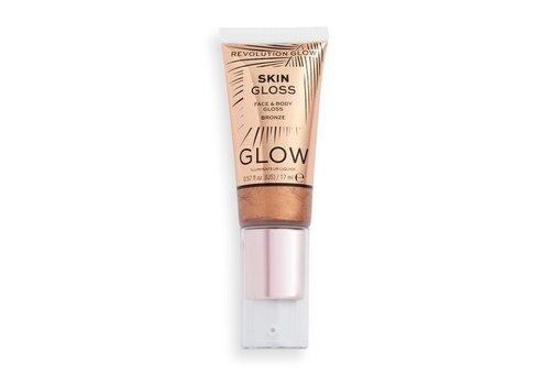 Makeup Revolution Face & Body Gloss Bronze