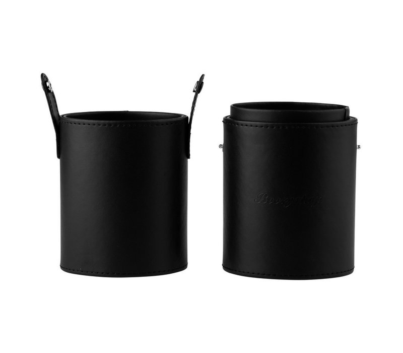 Boozyshop Large Brush Cup Holder Black
