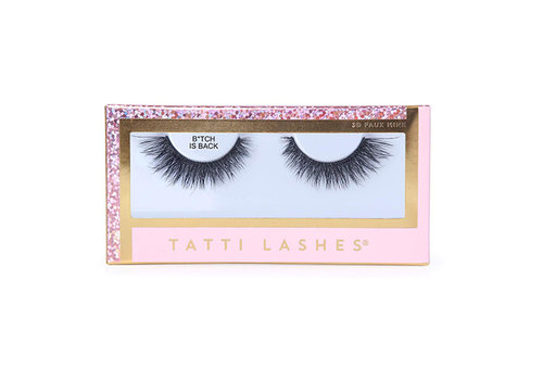Tatti Lashes Faux Me Mink B*TCH Is Back