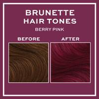 Revolution Hair Hair Tones For Brunettes Berry Pink