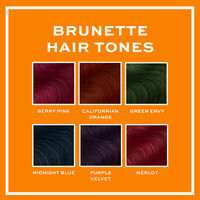 Revolution Hair Hair Tones For Brunettes California Orange