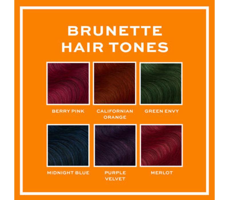Revolution Hair Hair Tones For Brunettes Midnight Blue