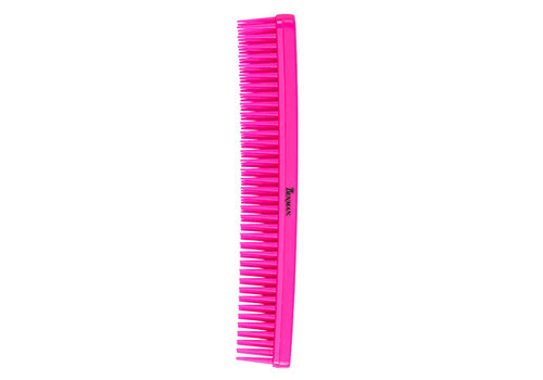 Denman D12 Tame N Tease Comb Pink