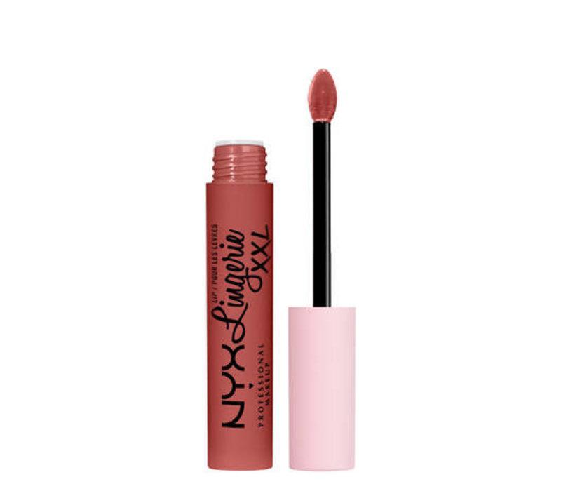 NYX Professional Makeup Lip Lingerie XXL Matte Liquid Lipstick Warm Up