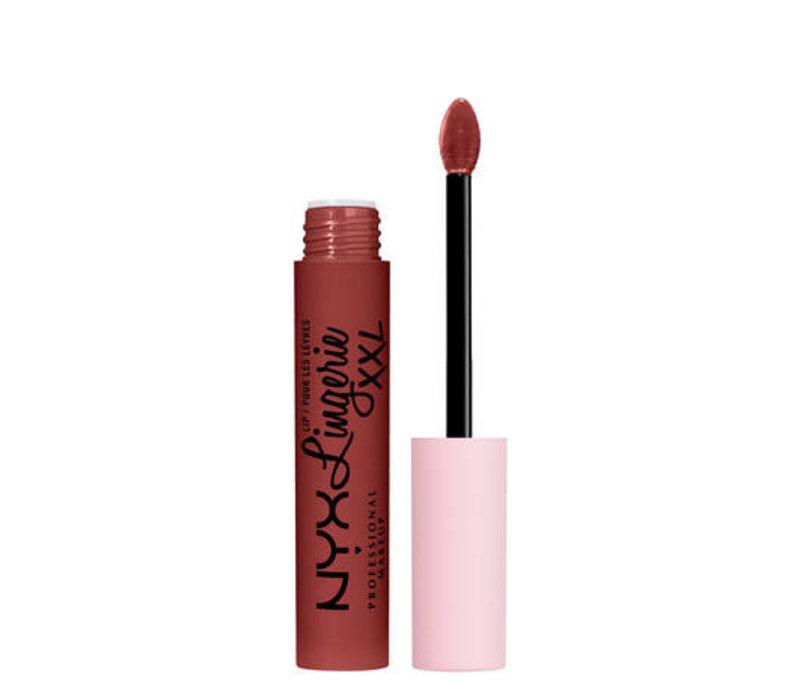 NYX Professional Makeup Lip Lingerie XXL Matte Liquid Lipstick Straps Up