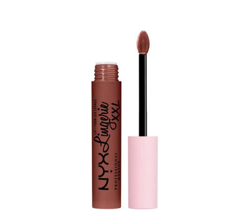 NYX Professional Makeup Lip Lingerie XXL Matte Liquid Lipstick Low Cut