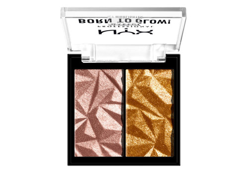 NYX Professional Makeup Born to Flow Icy Highlighter Duo Rock Candy