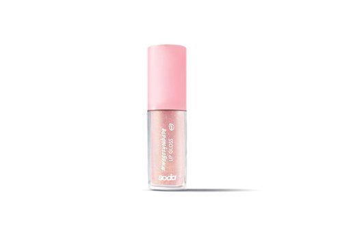 Soda Glitter Lipgloss #wegotyoubabe Peach Queen
