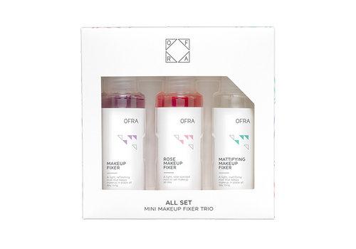Ofra Cosmetics All Set Mini Makeup Fixer Trio