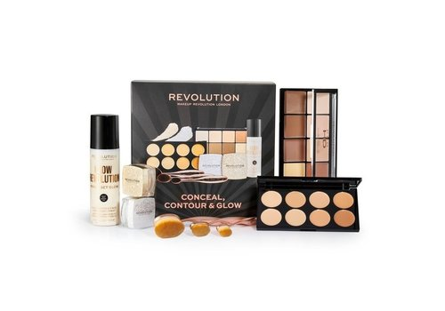 Makeup Revolution Conceal, Contour & Glow Set