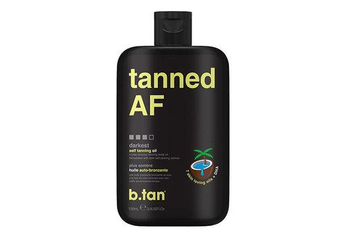 B.Tan Tanned AF Tanning Oil