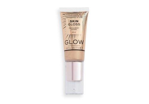 Makeup Revolution Face & Body Gloss Gold