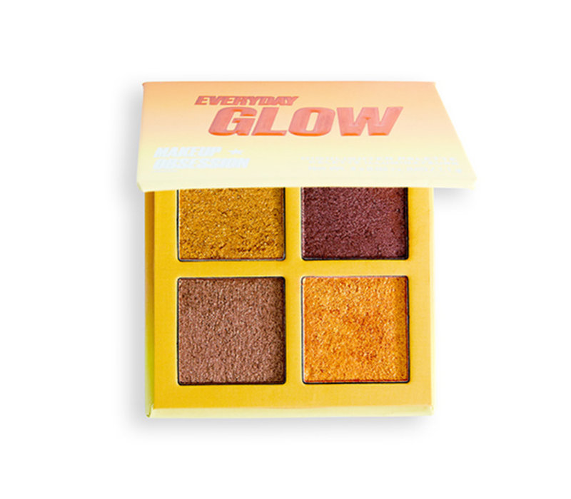 Makeup Obsession Blush Crush Palette Everyday Glow