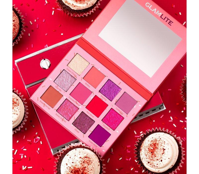 Glamlite Red Velvet Cupcake Palette