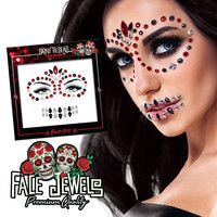 Paintglow Face Jewel Day Of The Dead