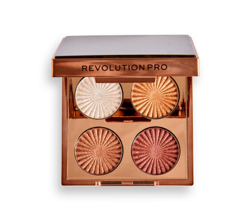 Revolution Pro Goddess Glow Eye Quad Sunkissed Eyeshadow Palette
