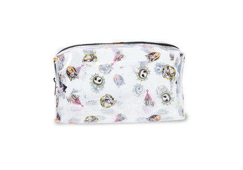Makeup Revolution x Disney Nightmare Before Christmas Cosmetic Bag Clear