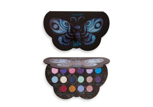 Makeup Revolution Corpse Bride x Revolution Butterfly Shadow Palette