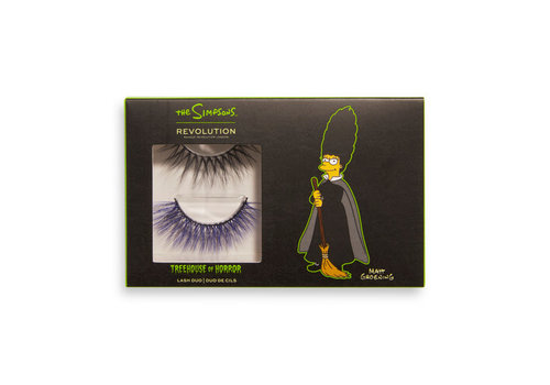 Makeup Revolution x The Simpsons Treehouse Of Horror Collection Bat Your Lashes Lash Duo