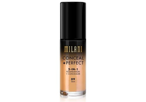 Milani 2-in-1 Foundation and Concealer 09 Tan