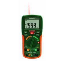 Extech Extech EX210 Pocket Digitale Multimeter + IR thermometer