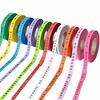 MixMamas Bonfim lint Rol 43m - Mulitpack 36 stuks - Roze, Oranje, Geel, Lichtroze, Paars, Rood