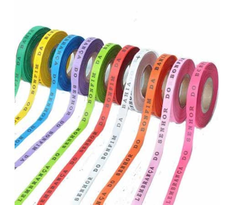Bonfim lint Rol 43m - Mulitpack 36 stuks - Roze, Oranje, Geel, Lichtroze, Paars, Rood