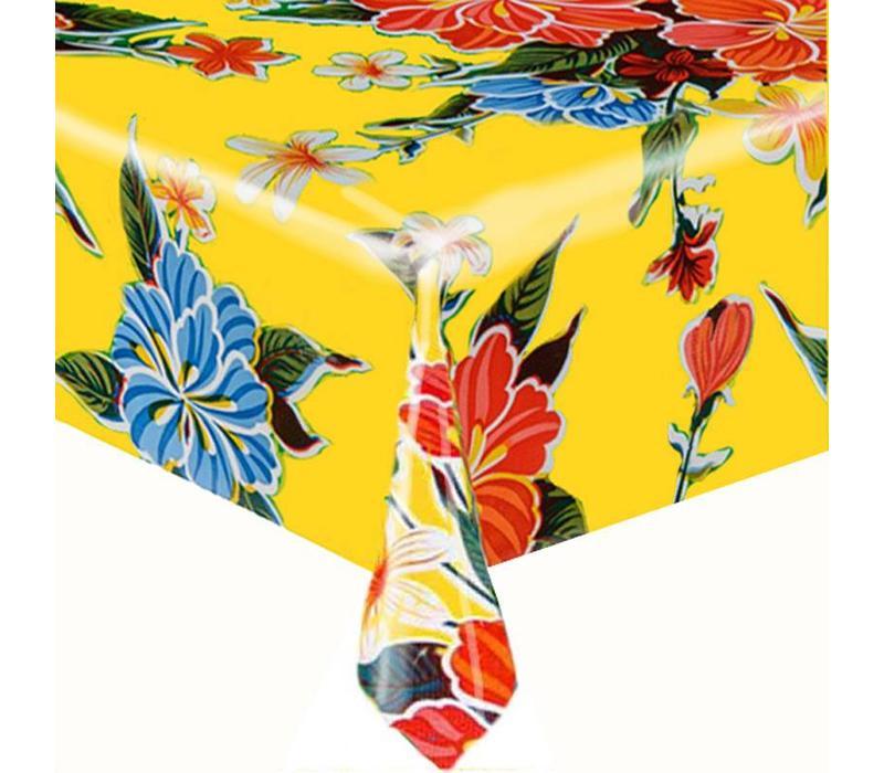 Mexicaans Tafelzeil Fortin Vierkant - 120 x 120 cm - Geel