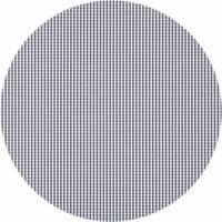 Rond Tafelkleed Gecoat - Ø 140 cm - Ruitje - Grijs