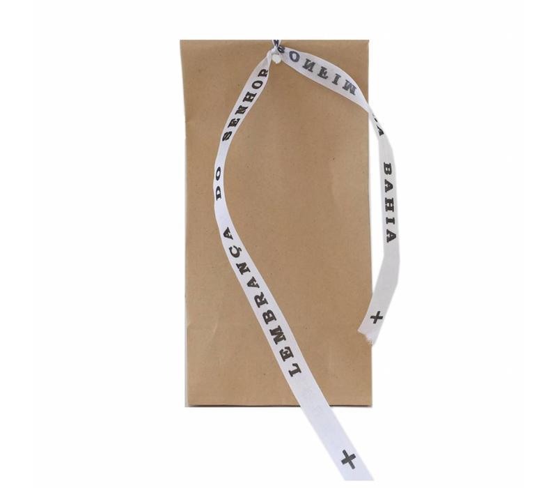 Bonfim lint - Set van 20 Bonfim Lintjes 43 cm - Wit
