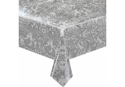 MixMamas Tafelzeil Paraïso / Barok - Rol - 120 cm x 11 m - Zilver