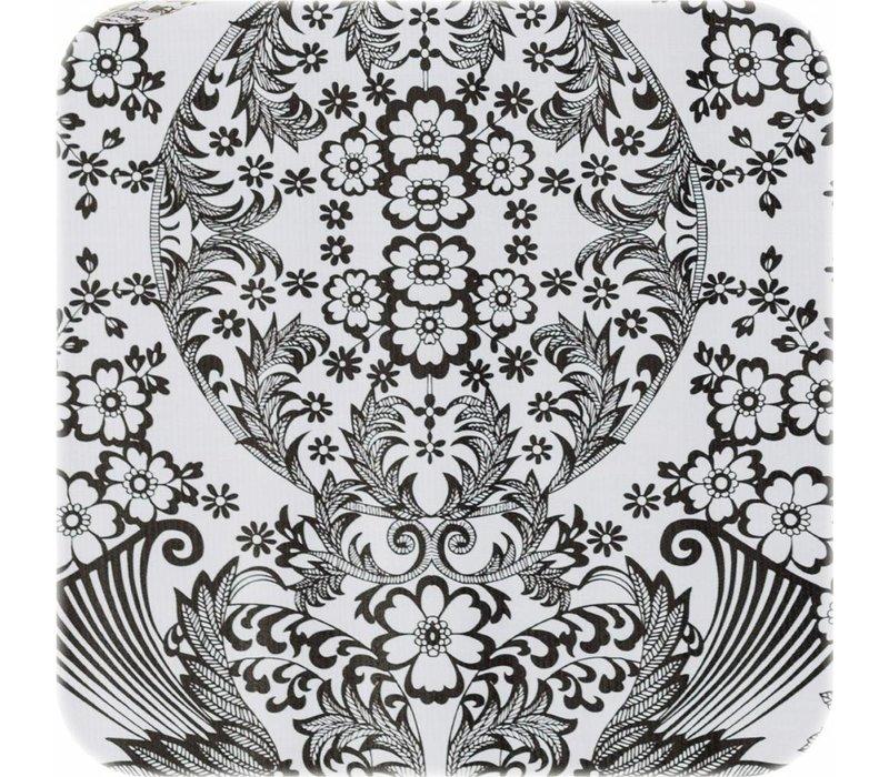 Mexicaans Tafelzeil Paraïso / Barok - Rol - 120 cm x 11 m - Zwart