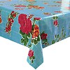 MixMamas Mexicaans Tafelzeil Rozendal - 120 x 200 cm - Blauw