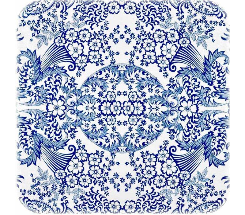 Mexicaans Tafelzeil Paraïso / Barok - 120 x 200 cm - Blauw