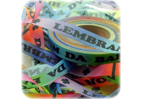 MixMamas Bonfim lint - Set van 20 Bonfim Lintjes 43 cm - Rainbow