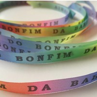 Bonfim lint - Set van 20 Bonfim Lintjes 43 cm - Rainbow